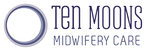 Ten Moons Midwifery Care Logo